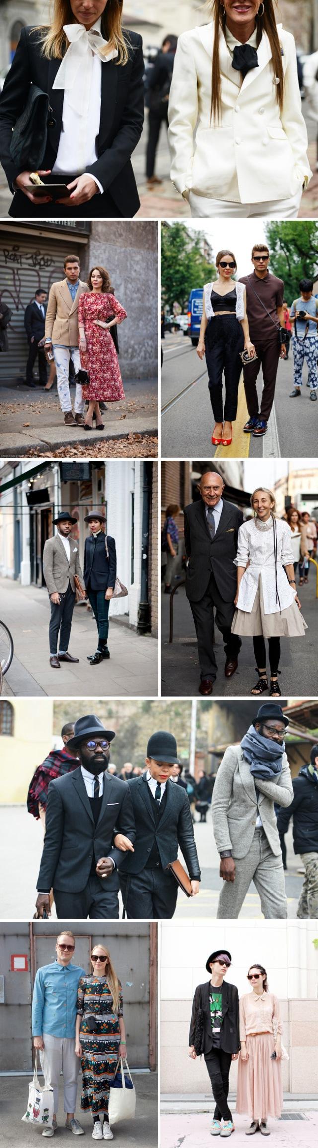 fashionable couples