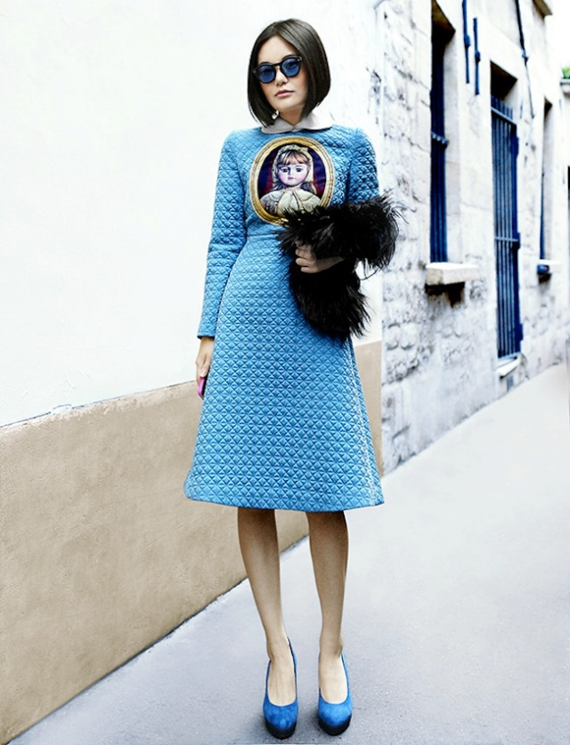 meo meo,street style,fashionweek paris 2013,balenciaga,modemajeure