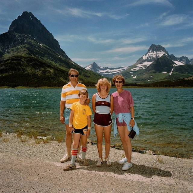 Family-at-Many-Glacier-Glacier-National-Park-MT-19811