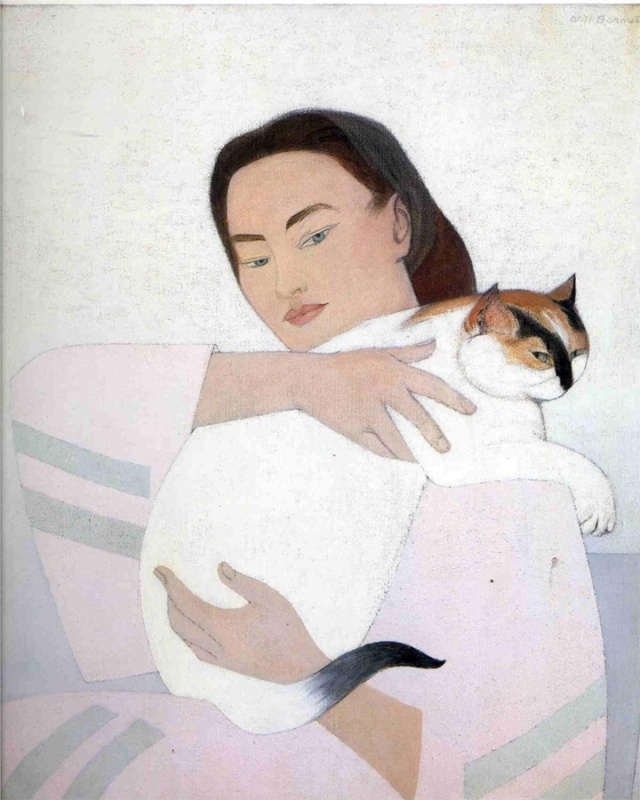 Will Barnet 1911 - American Figurative painter - Tutt'Art@