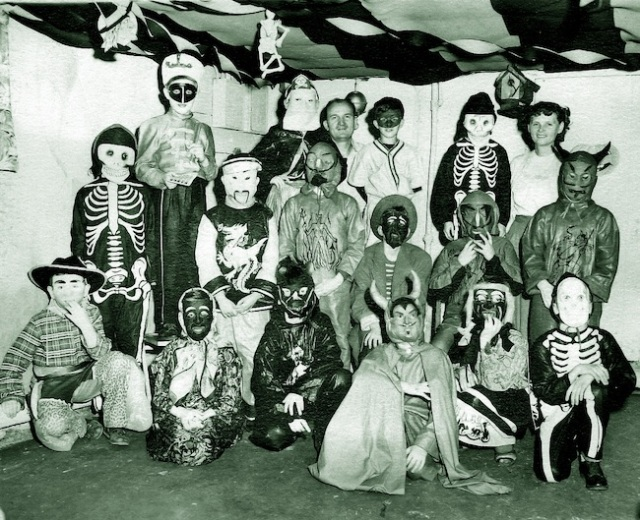 1949 Halloween party