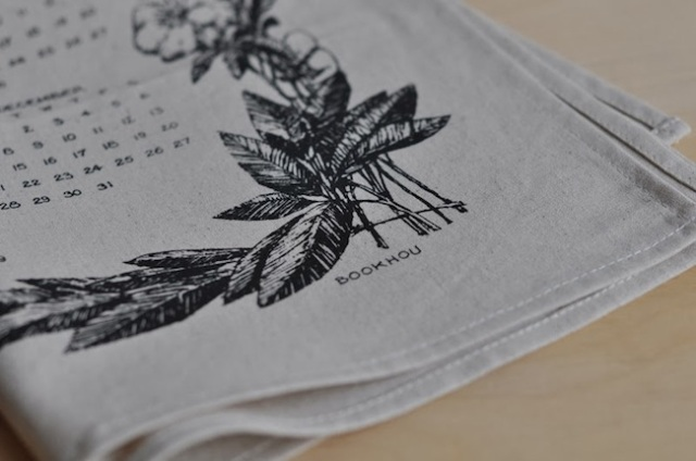 calendar 2014 fabric
