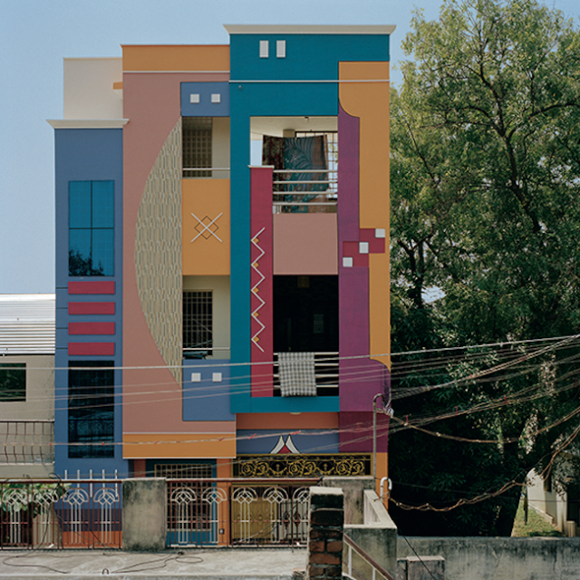 Indian architecture ettore sottsass for Architecture design for house in india
