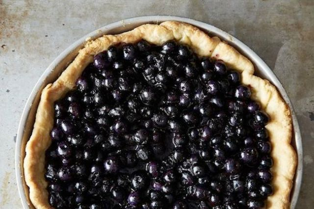 rose levy beranbaum blueberry pie